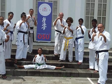 Démonstration Kyokushin au Domaine Moka