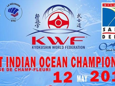 26 podiums !!!             First Indian Océan Championship 2019 Résultats du KWF Dojo Pierre Grondin