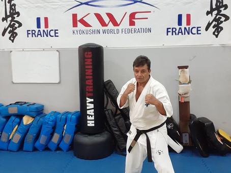 Shihan Antonio Pereira au KWF Dojo Pierre Grondin