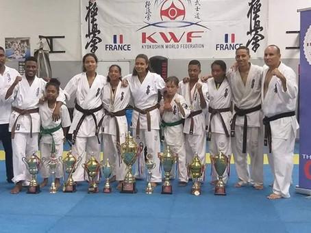 Premier Championnat National KWF de l'île Maurice 26 janvier 2020
