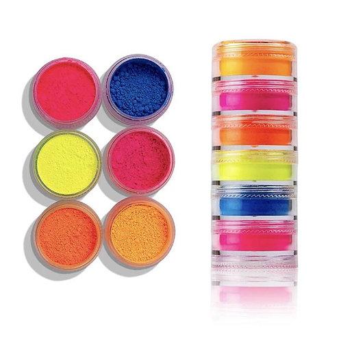 Neon Cosmetic Pigment Stack