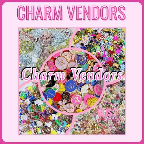 Charm Vendors (Designer & Non-Designer)