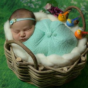 Letícia - 8 dias (Ensaio Newborn)