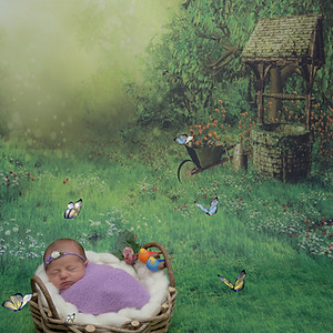Isabela - 10 dias (Ensaio Newborn)