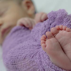 Samira - 10 dias (Ensaio Newborn)