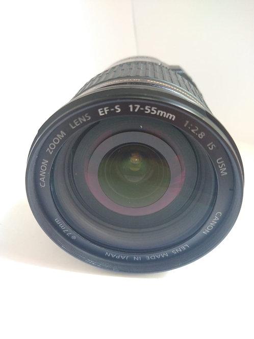 Lente Canon Ef-S 17-55mm f/2.8 Is Usm (peça usada - adquirida em 2019)