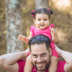 Mariana - 10 meses (Ensaio Família)