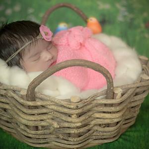 Luiza - 6 dias - Ensaio Newborn