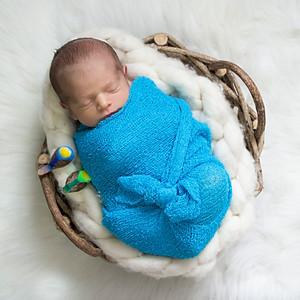 Murilo - 8 dias (Sessão Newborn)