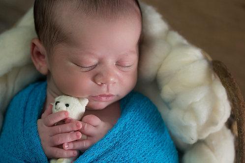 Ensaio Fotográfico Newborn - Baby Básico