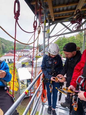 Georado - Trainingsplätze und Kletterturm