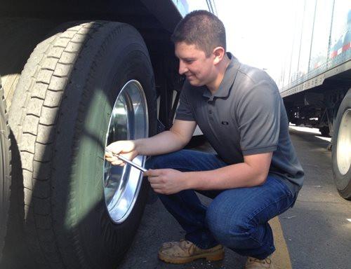 Fixing a truck breakdown