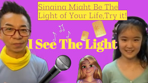 Singing Might Be The Light of Your Life,Try it!唱歌可能是你生命中的光,試一下吧!