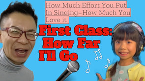 How Much Effort You Put In Singing=How Much You Love it 你在唱歌放多少努力=你多愛唱歌