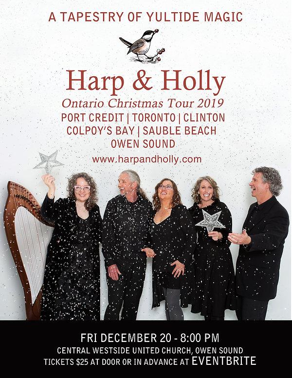 2019 Harp & Holly Poster - OWEN SOUND.jp