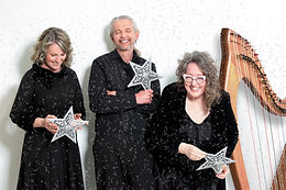 The Chamber Music Society of Mississauga and the Port Credit Library presents The Harp & Holly Trio (Sharlene, Terry and Sandra)