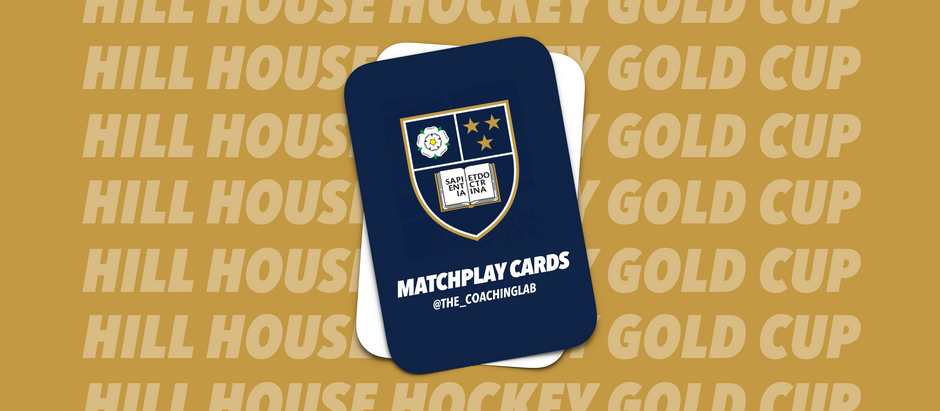 Hill House Gold Cup with MatchPlay Cards