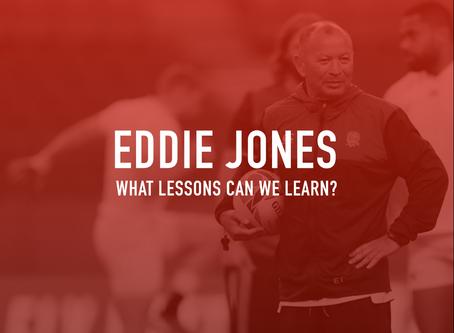 Lessons of leadership; Eddie Jones
