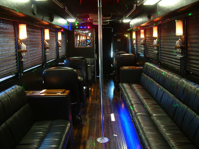 37 Passenger Limo Bus