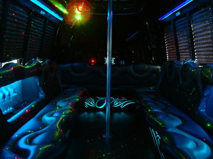 27 Passenger Limo Bus