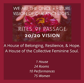 Rites of Passage Intuitive painting workshop