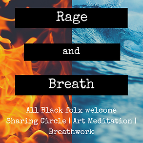 Rage and Breath Intuitive painting workshop