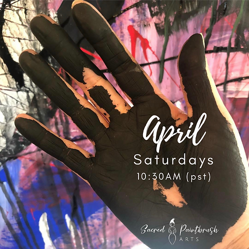 Intuitive Painting for Creative Healing - April/Saturdays