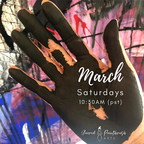 Intuitive Painting for Creative Healing - March/Saturdays (3 week session)