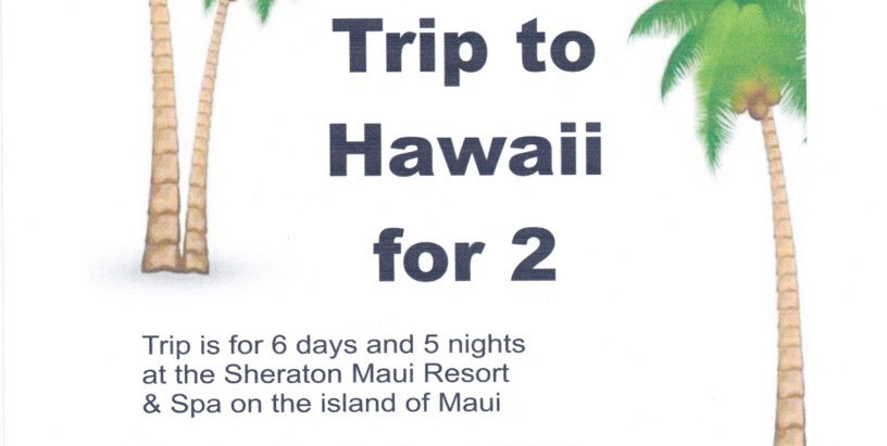 Win a Trip to Hawaii for 2!