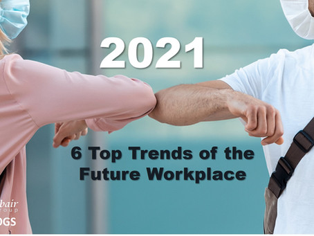 6 Top Trends for the 2021 workplace