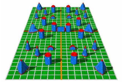 Paintball Field Obstacle Combo H