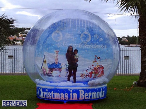 Photo Booth Snow Globe Inflatable