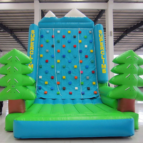 Inflatable Kiddie Climbing Wall Velcro Combos