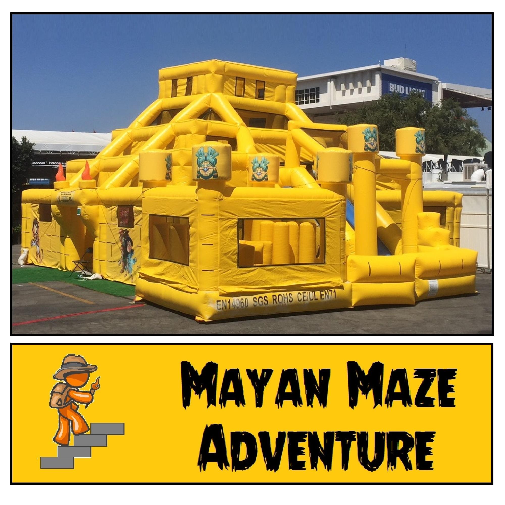 Inflatable Mayan Maze Combo