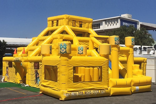 Mayan Maze with Slide and Obstacle Bouncy