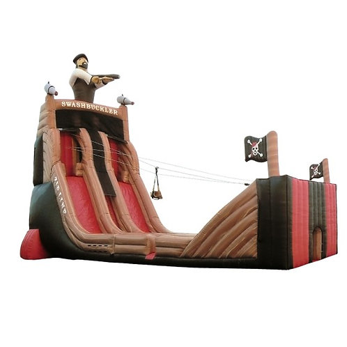 Swashbuckler Inflatable Zip Line