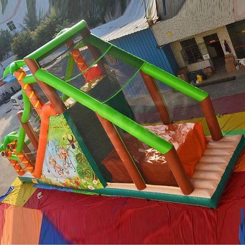 Jungle Free Fall Stunt Jump with Optional Slide