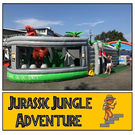 Jurassic Jungle Adventure Maze