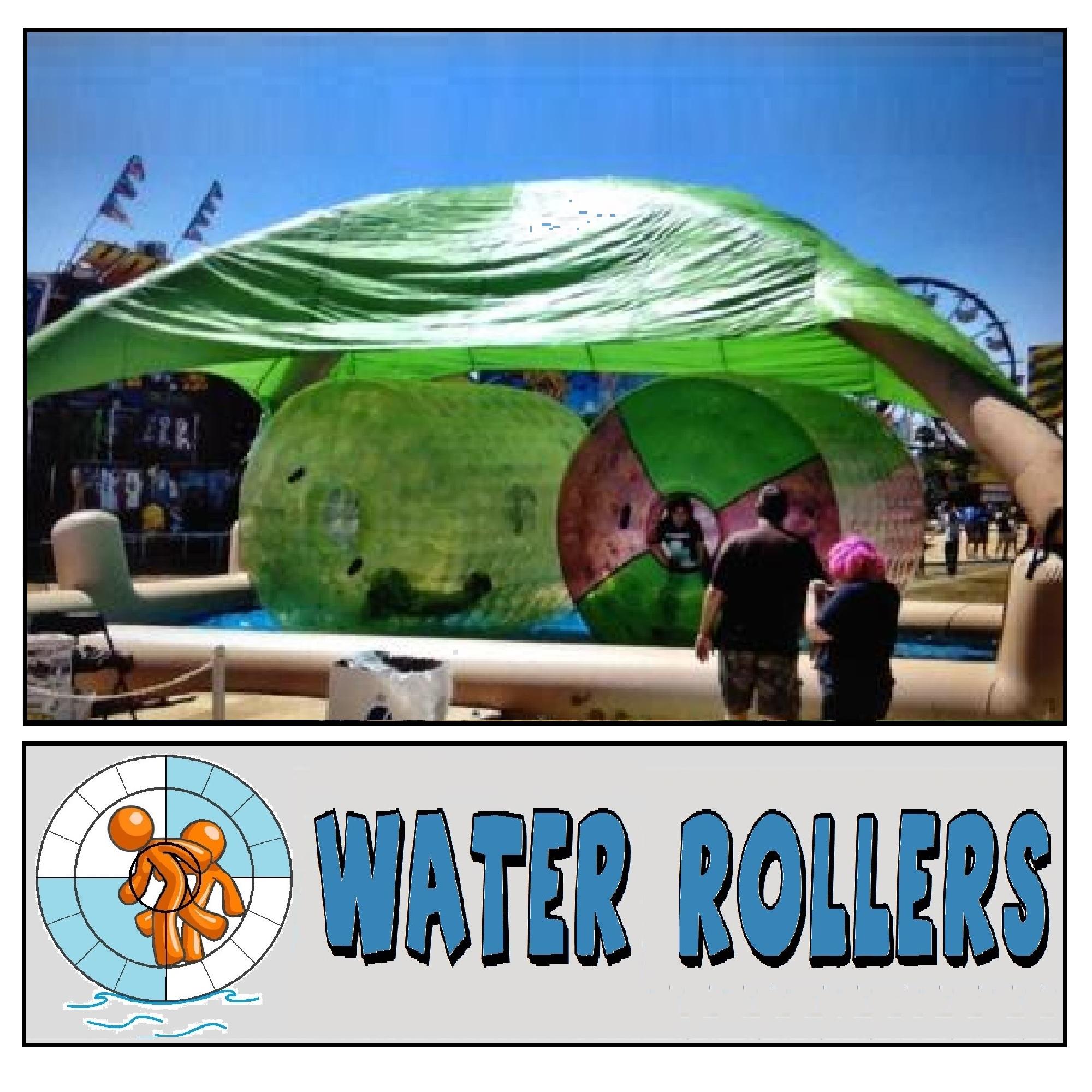 Water Rollers human hamster wheels