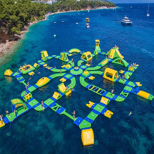 Custom Inflatable Water Parks