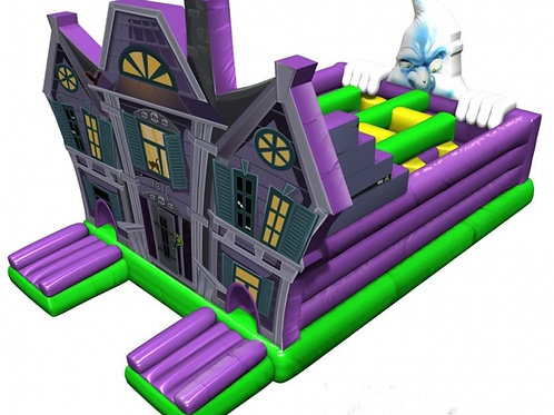 Haunted House Inflatable Obstacle Bouncer
