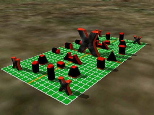 Paintball Field Obstacle Combo B