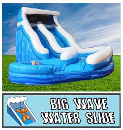 Inflatable Big Wave Water Slide