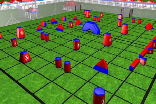 Paintball Field Obstacle Combo A