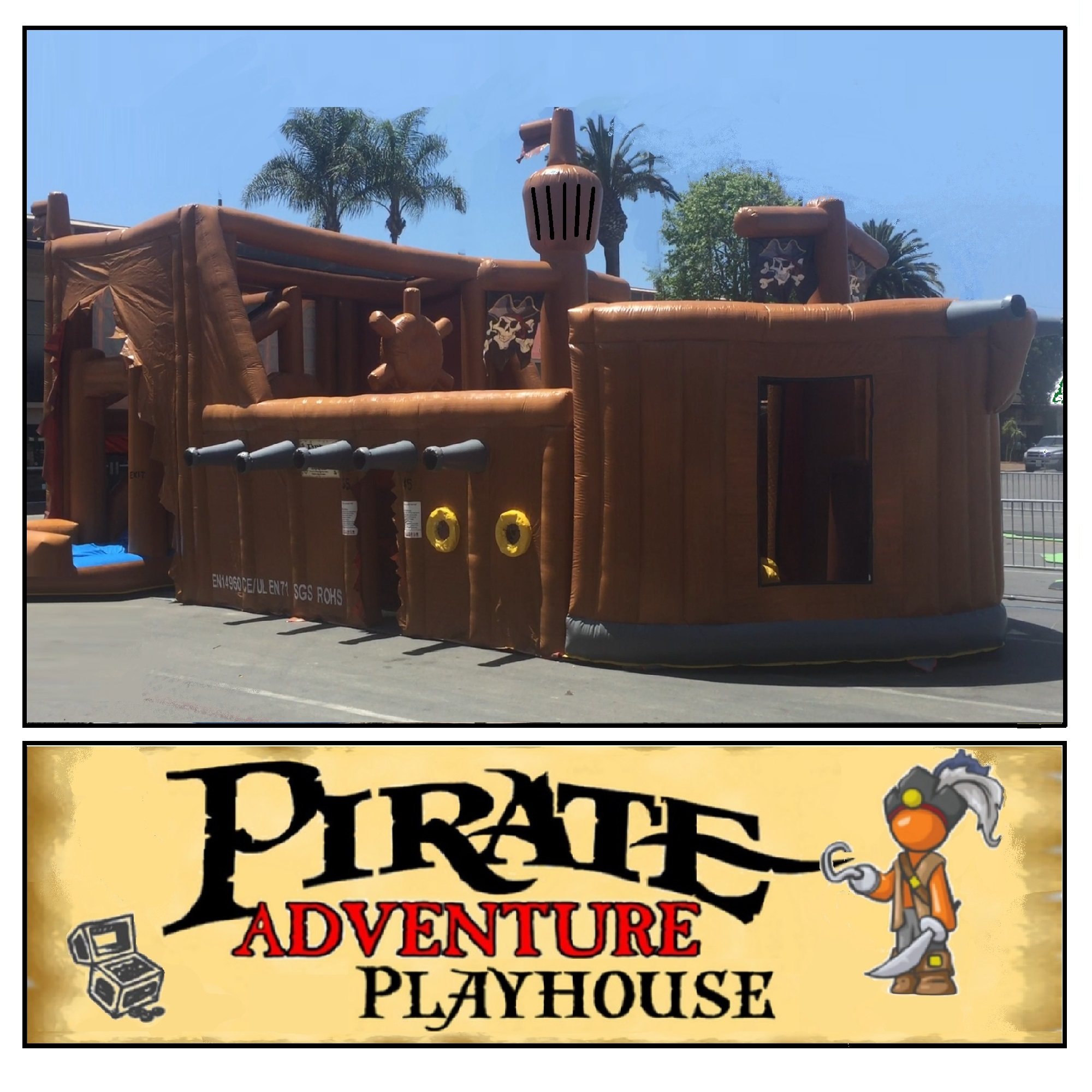 Pirate Adventure Playhouse
