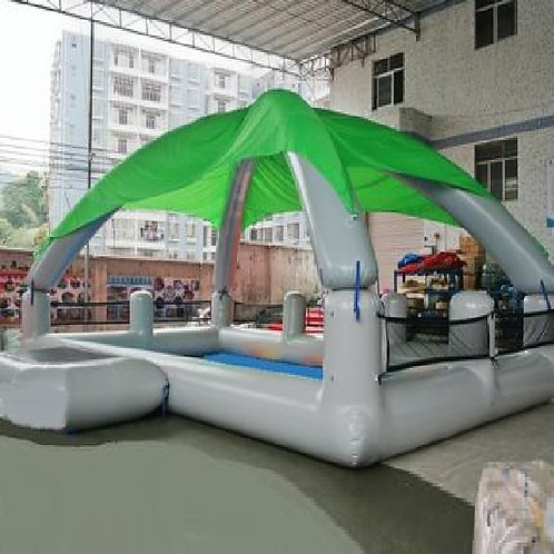 Rectangular Pool with Canopy for Wow Bubbles and Water Rollers