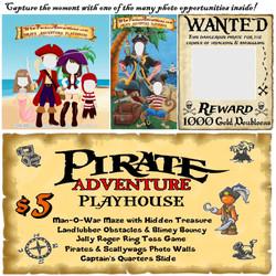 Pirate Adventure Playhouse