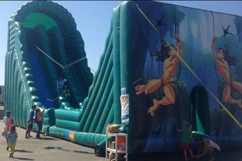 Inflatable Zip Line