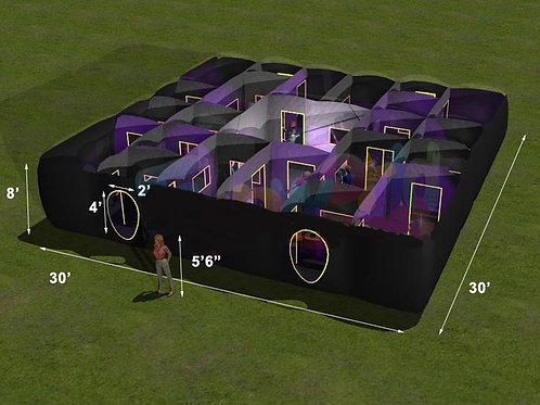 Inflatable Lazer Tag Arena