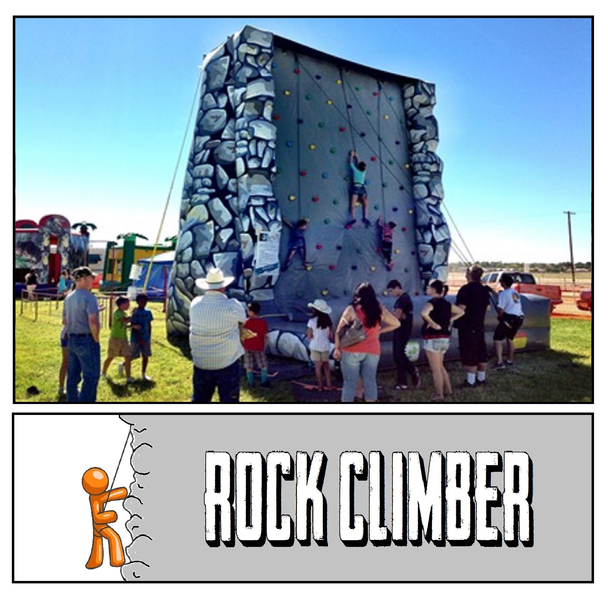 Inflatable Rock Climber
